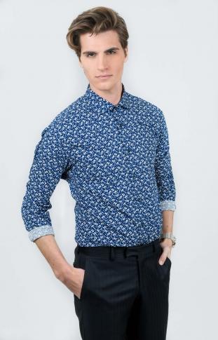Mönstrad skjorta 458d0df20f742