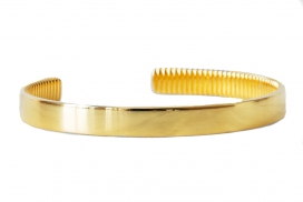 The Bangle Bracelet - Gold Plated