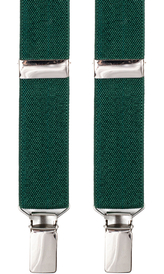 Dark Green Suspenders