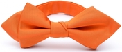 Diamond tip Bow Tie Orange