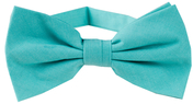 Cotton Bow Tie | Turquoise Green
