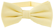 Cotton Bow Tie | Light Yellow
