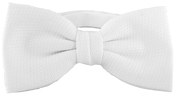 Tail Coat Bow Tie White