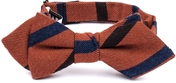 Wragby Diamond tip Wool Bow Tie