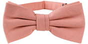 Cotton Bow Tie | Old Pink