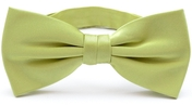 Mint green bow tie silk