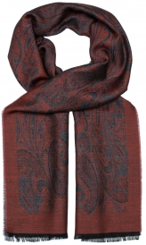 Gino Jacquard Scarf Double Face