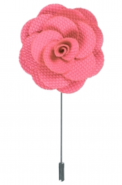 Rosa lapel flower pin, Neckwear